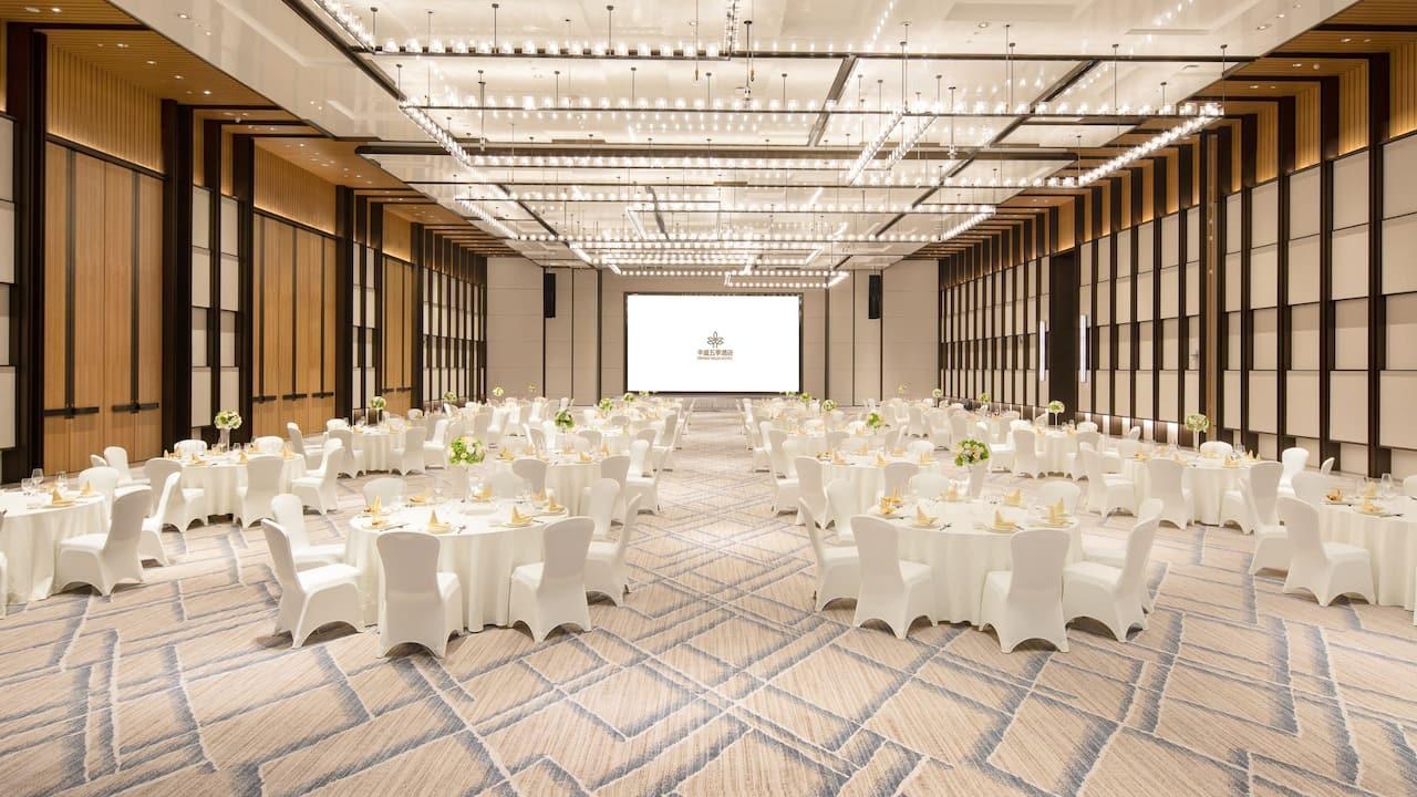 Wuji Ballroom at Grand WUJI Hotel