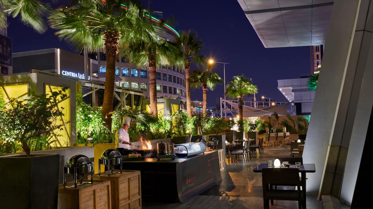 56th Avenue Dinner Outdoor Terrace