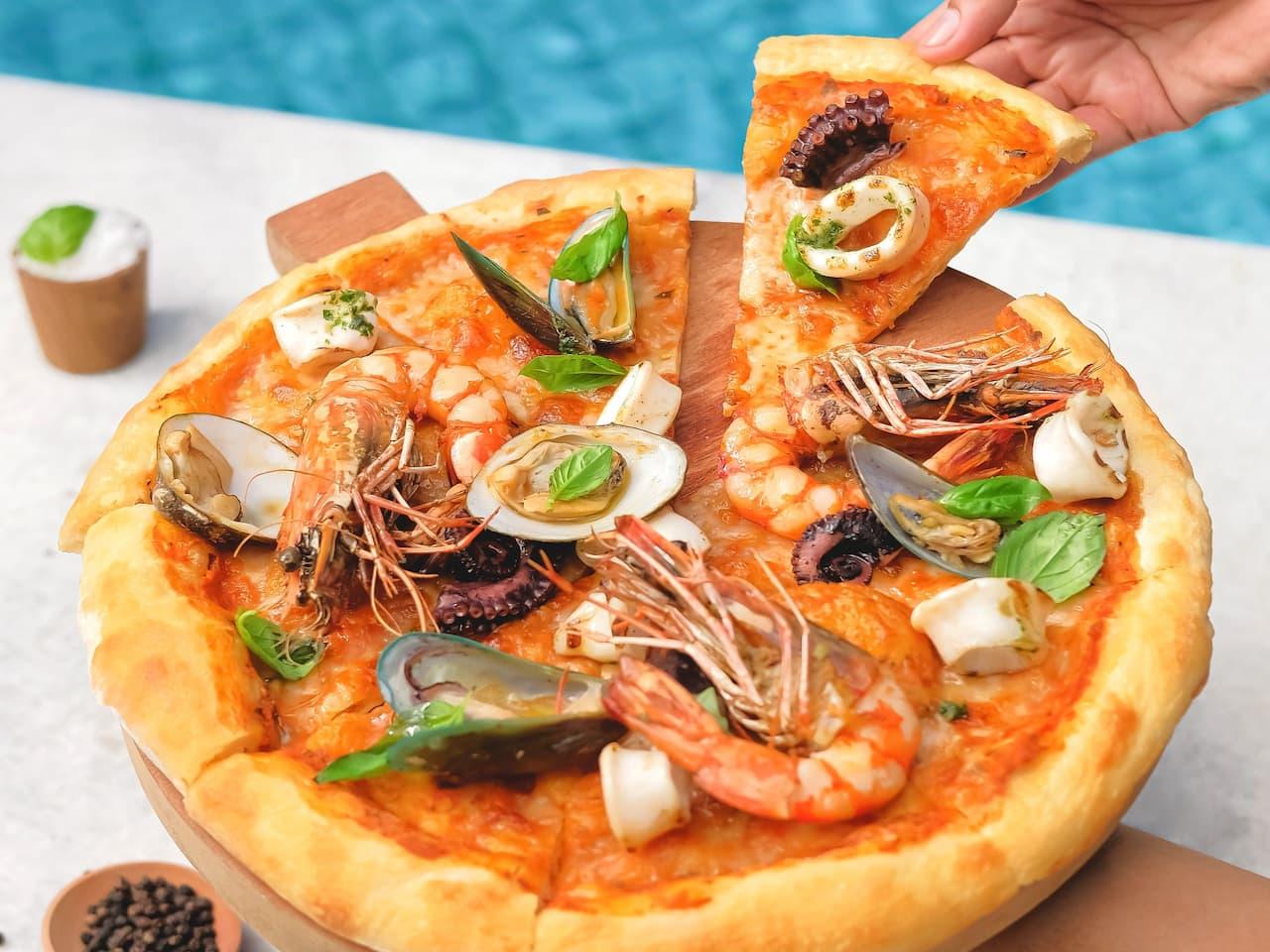 Salsa Verde Italian Restaurant Nusa Dua Bali, Grand Hyatt