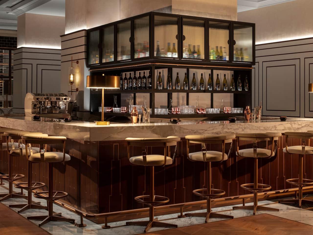 The Lombard, Italian restaurant , vibrant ,bar, dome, luxury, fine dining