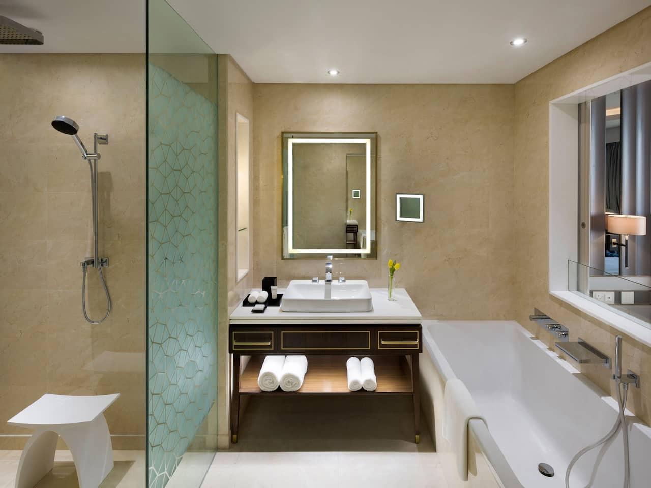 King Bathroom Window