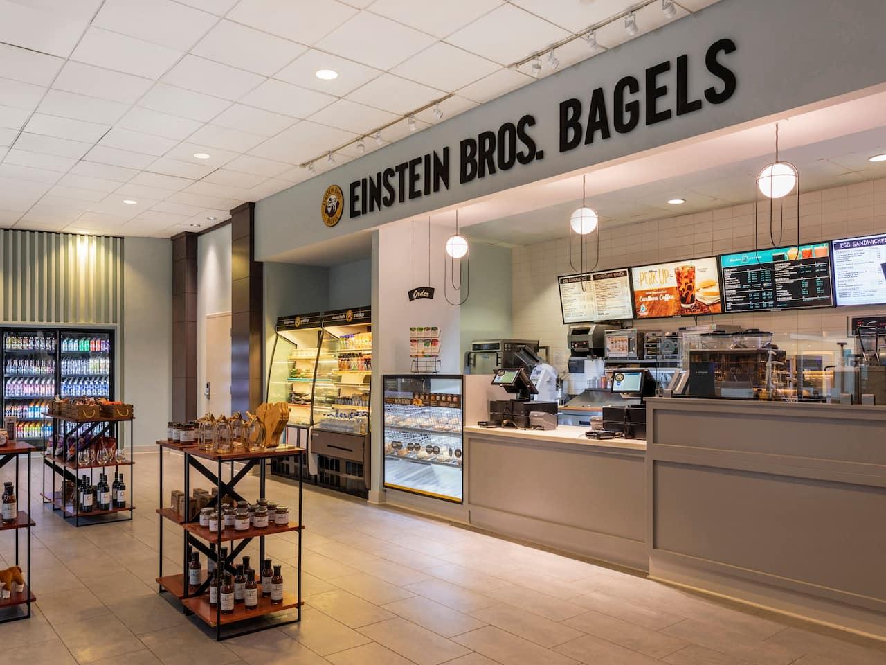 Hyatt Regency Houston Einstein Bros. Bagels Entrance