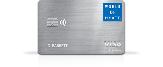 Learn More about World of Hyatt Credit Card