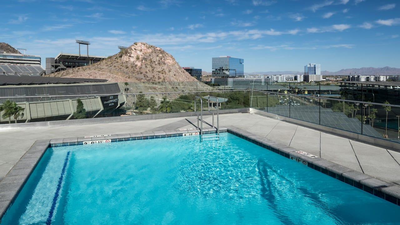Pool Rooftop View