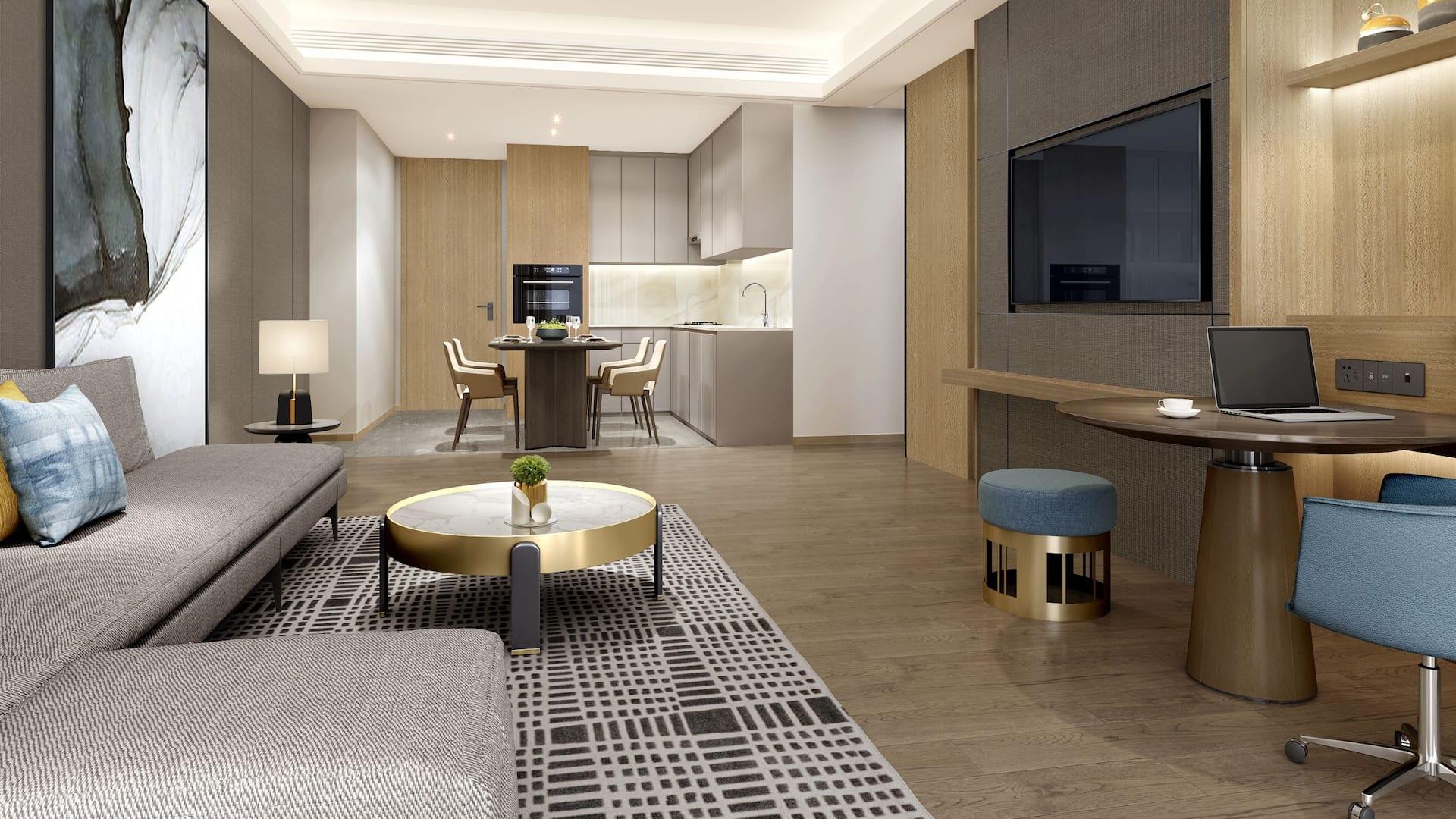 King Suite with Kitchen Bedroom