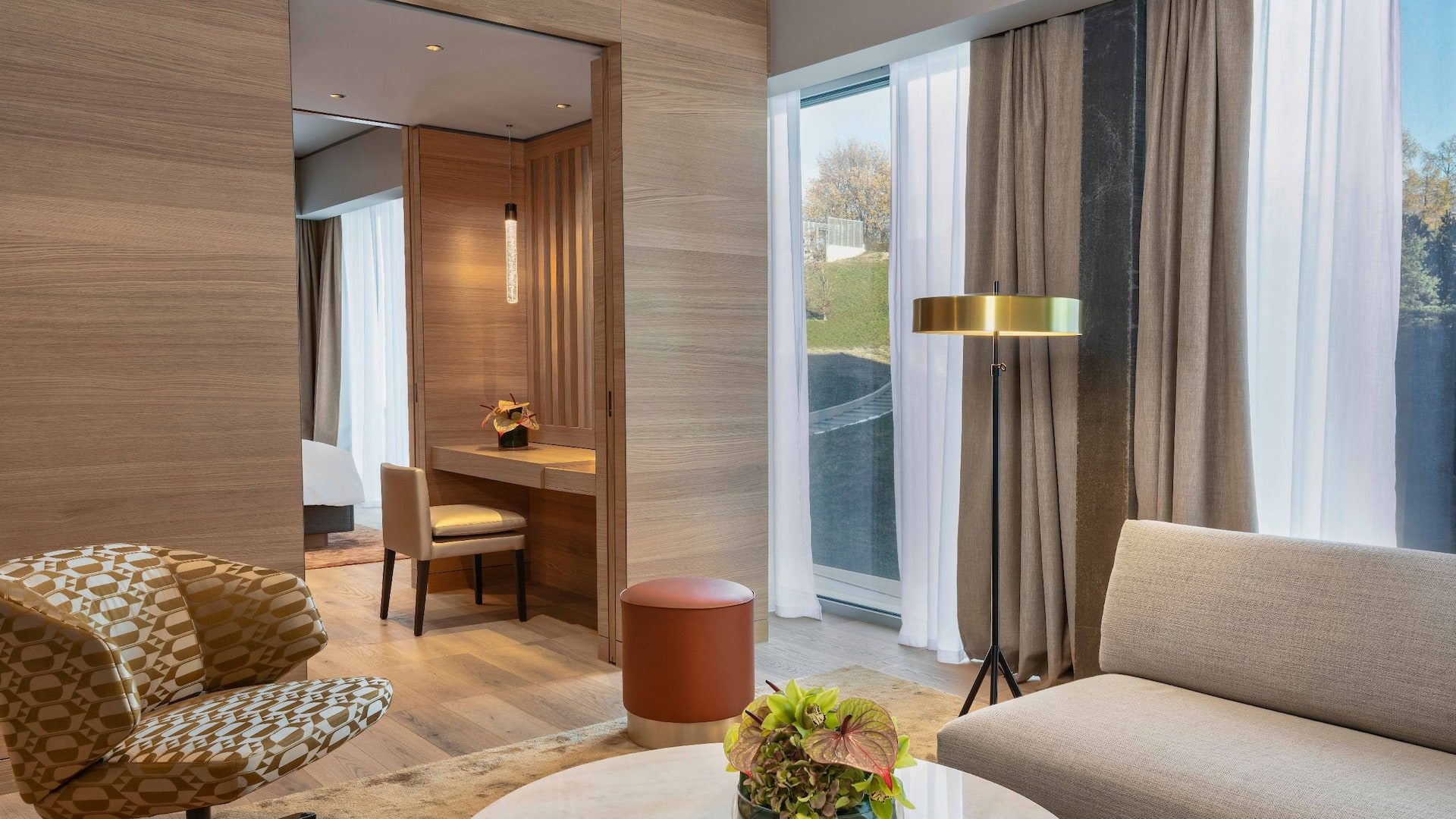 Hyatt Regency Zurich Airport The Circle Suite Living Room