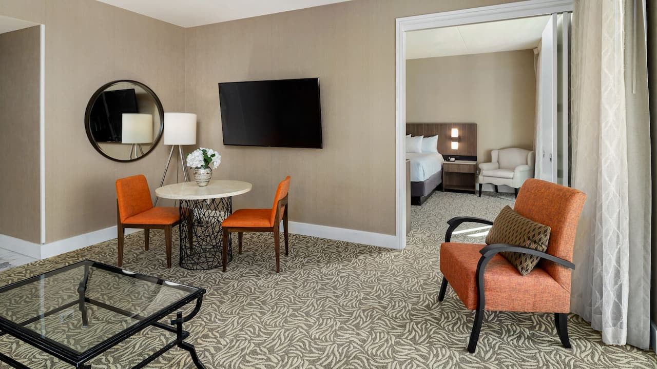 Grand Suite Living Space