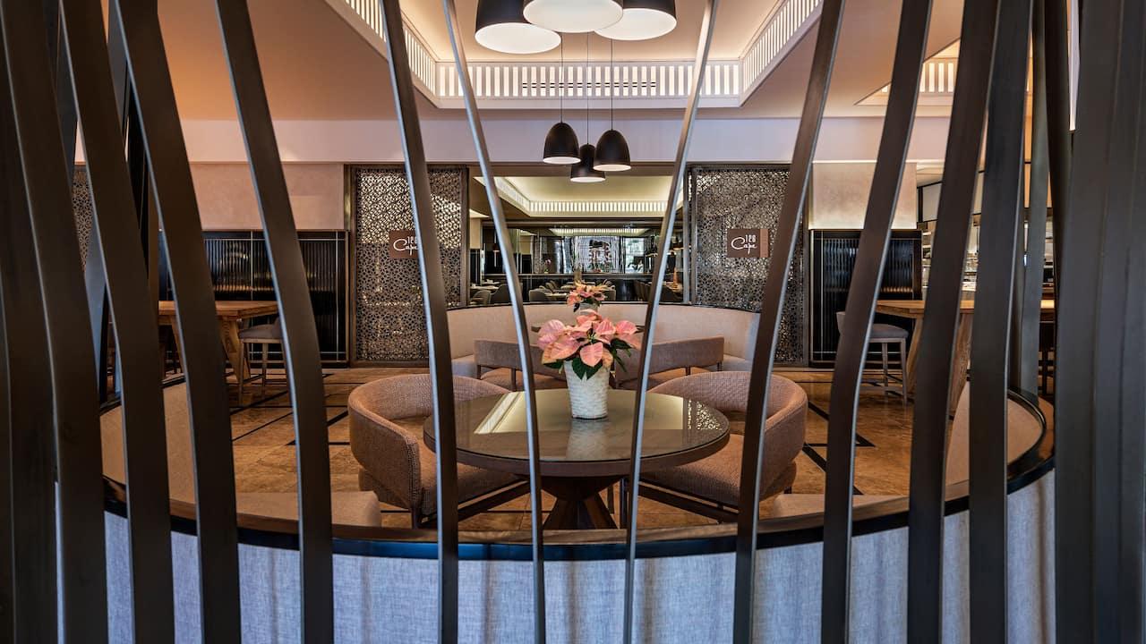 Hyatt Regency Guest Sitting Area