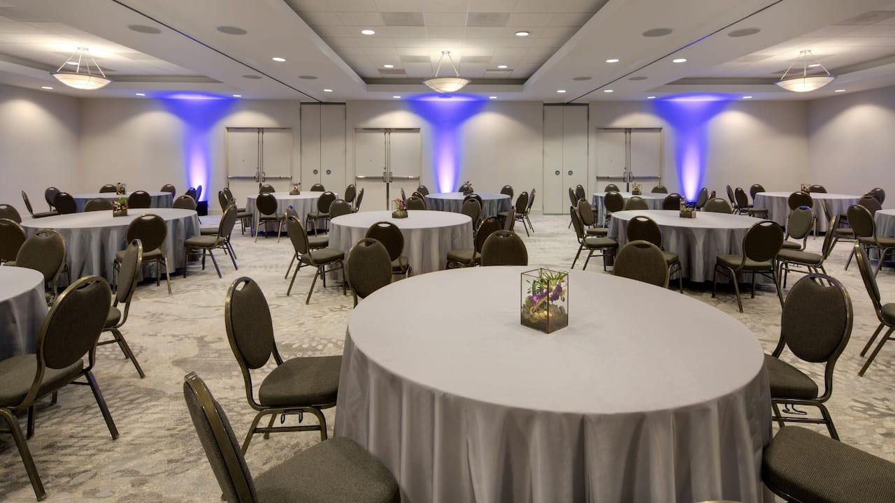 Renovated Meeting Space Rounds