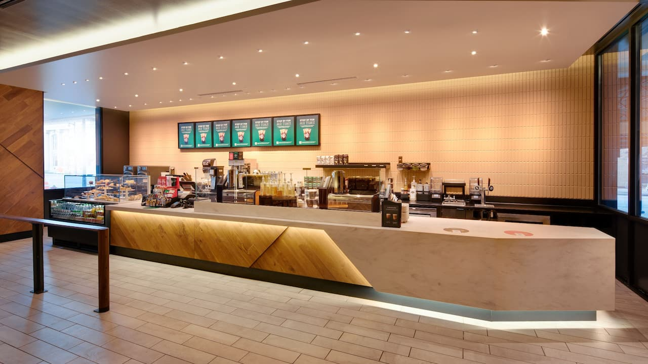 Starbucks Counter Order