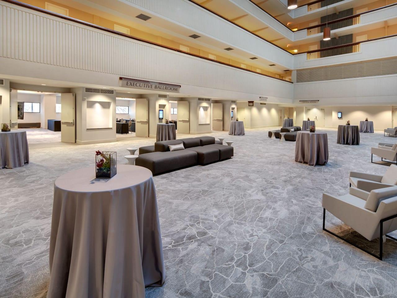 Hyatt Regency Milwaukee atrium reception