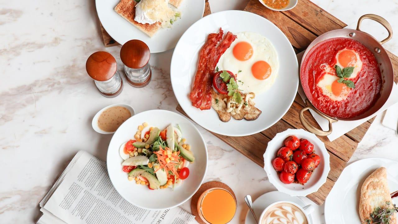 Market Cafe Breakfast