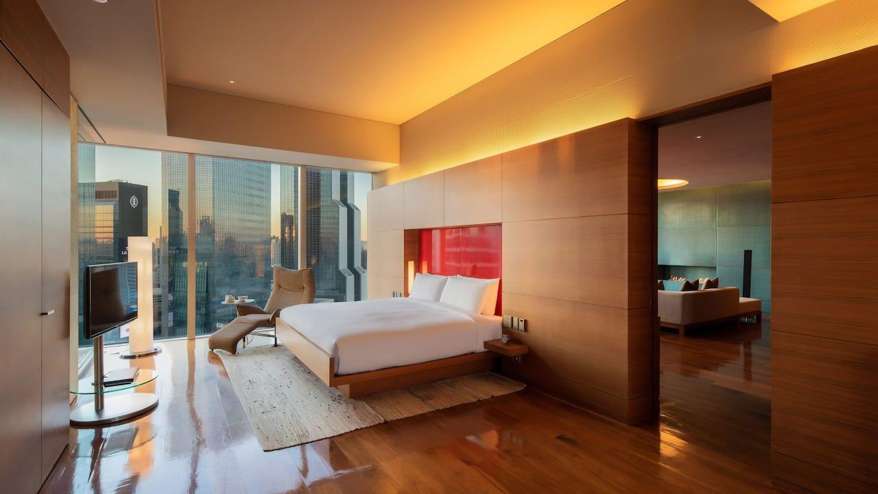 Park Hyatt Seoul - Diplomatic Suite - Luxurious Design & Stunning Views