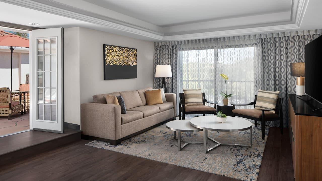 Promenade Suite Parlor and Terrace