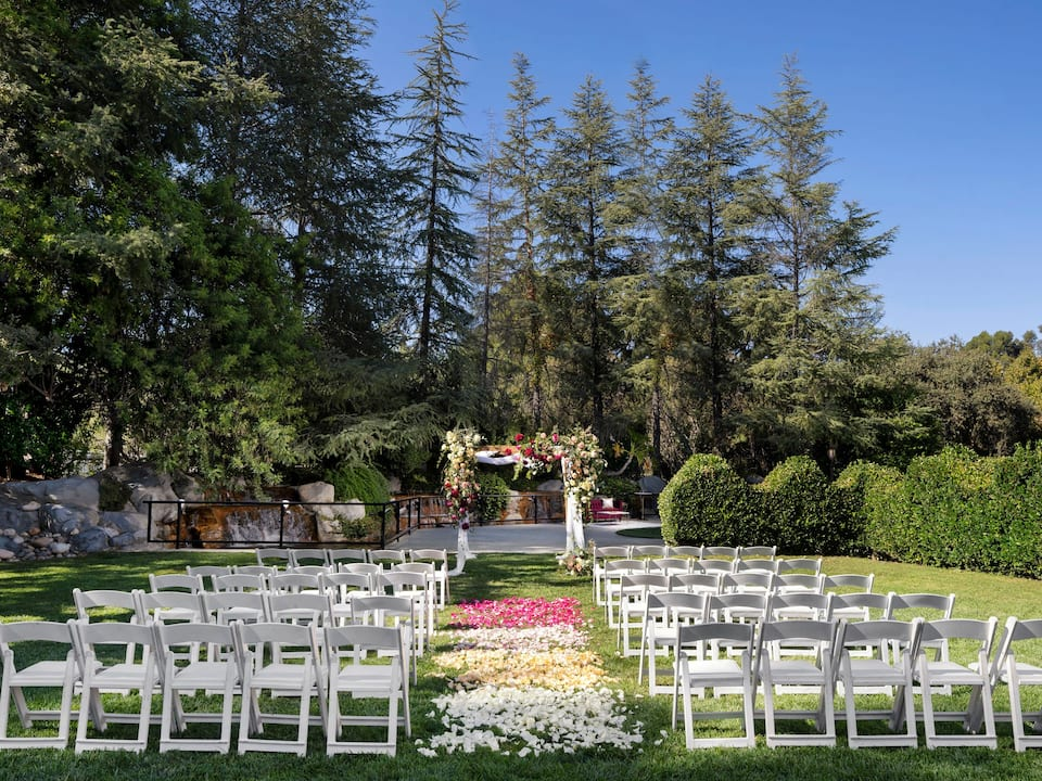 Gazebo Lawn Wedding Ceremony