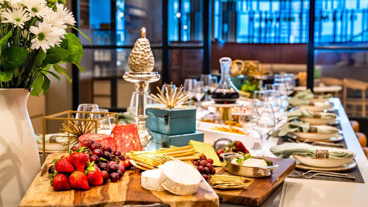 Private Dining Tablescape
