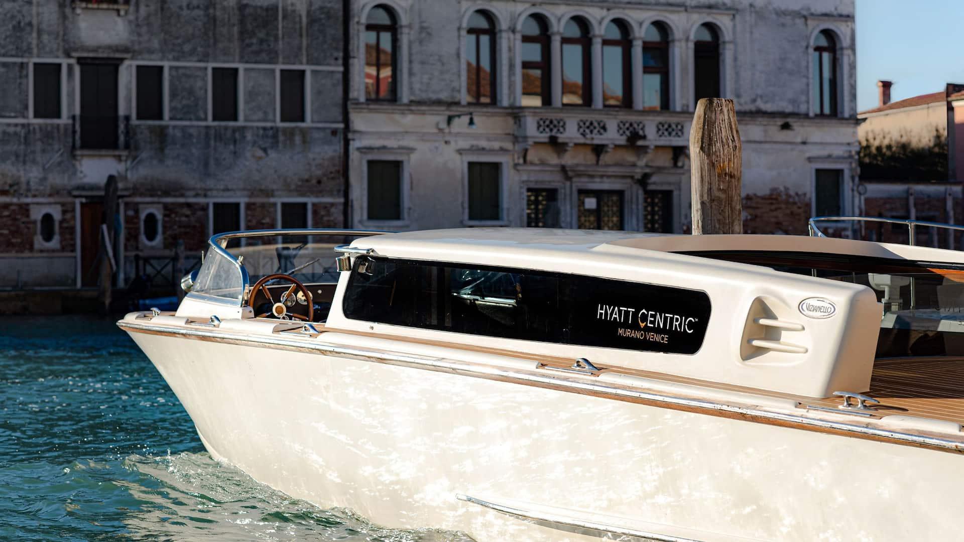Hyatt Centric Murano Venice entrance