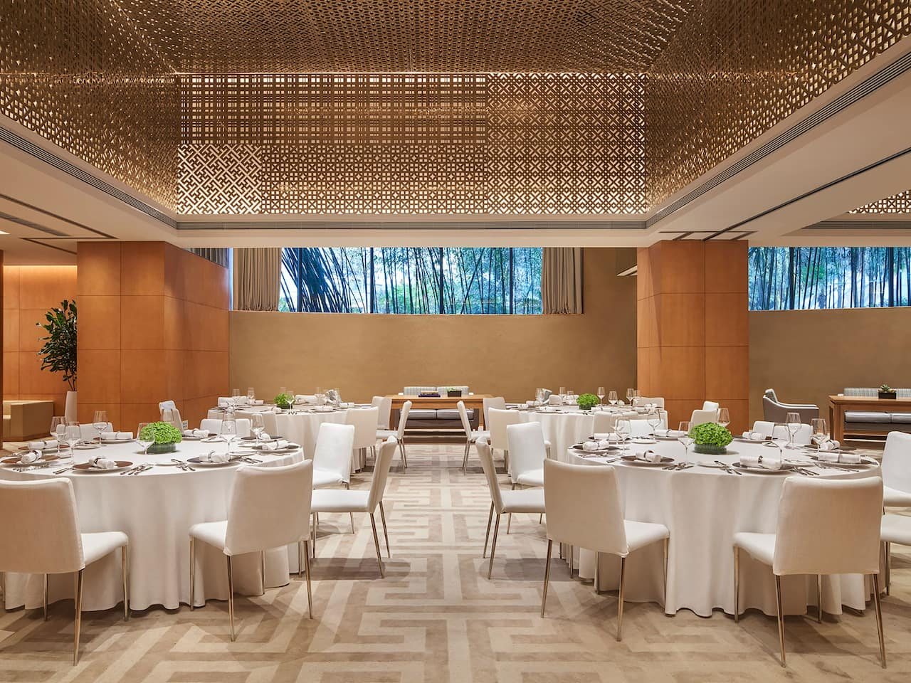 Bamboo Function Room Banquet Setup