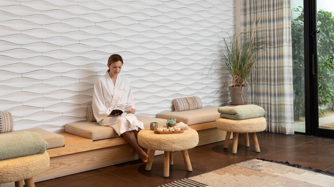 Woman Relaxation Room
