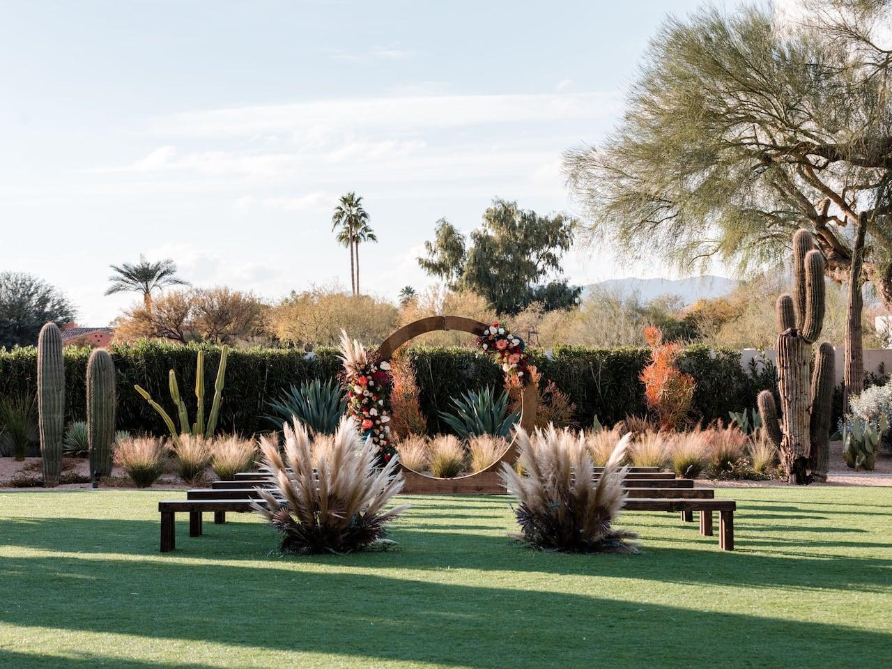 Andaz Scottsdale Albers Lawn Wedding
