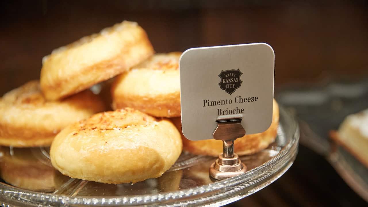 Cafe Pimento Cheese Brioche Details