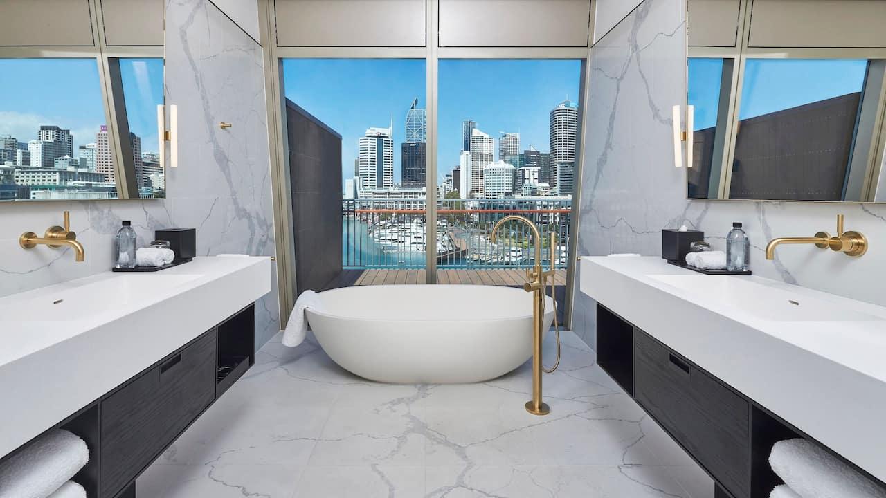 Park Hyatt Auckland Chairmans Suite Bathroom