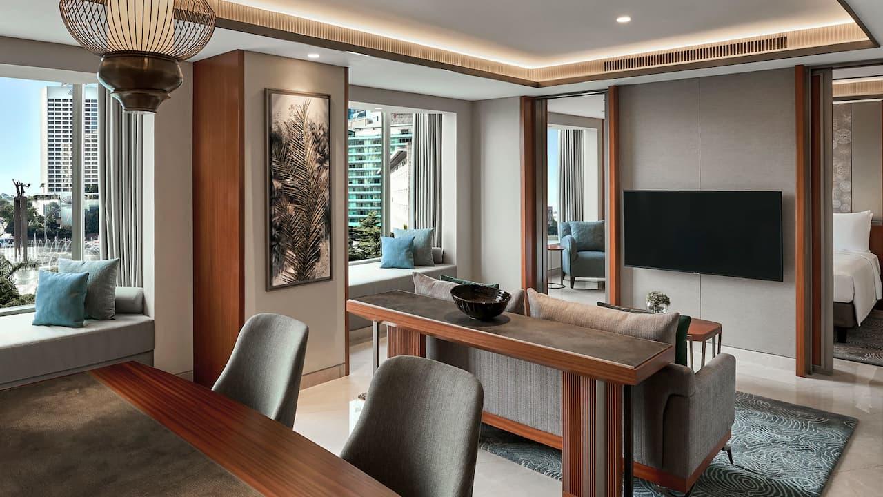 Grand Suite at Grand Hyatt Hotel, Jakarta (Spacious Living & Dining Rooms)