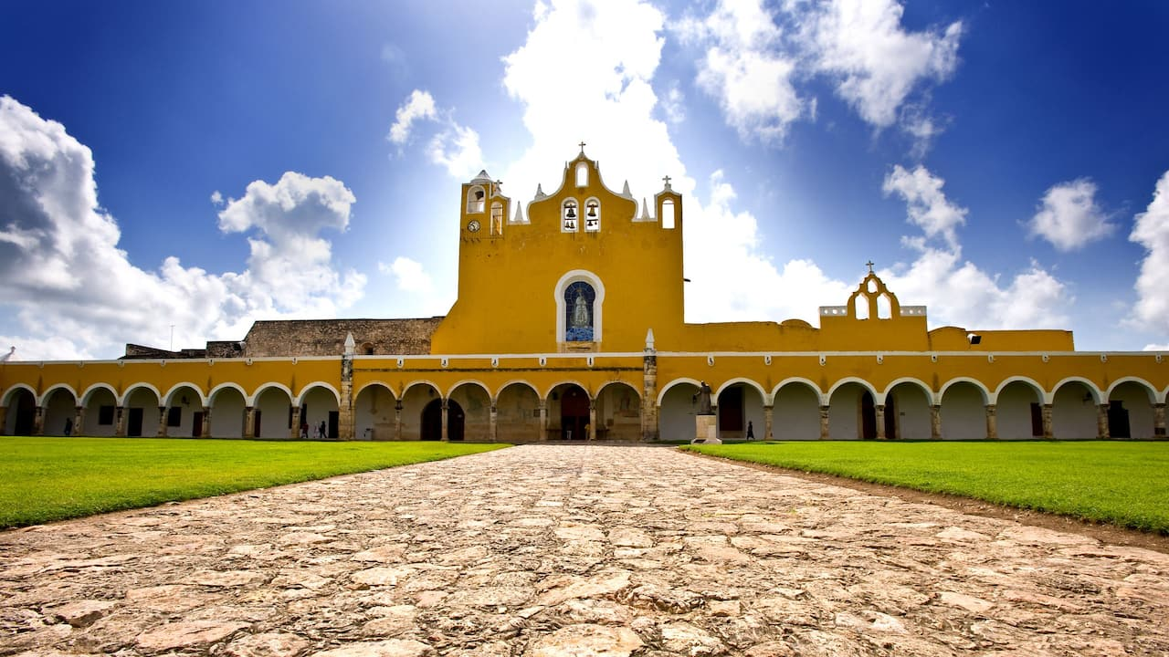 Izamal Convent Day View