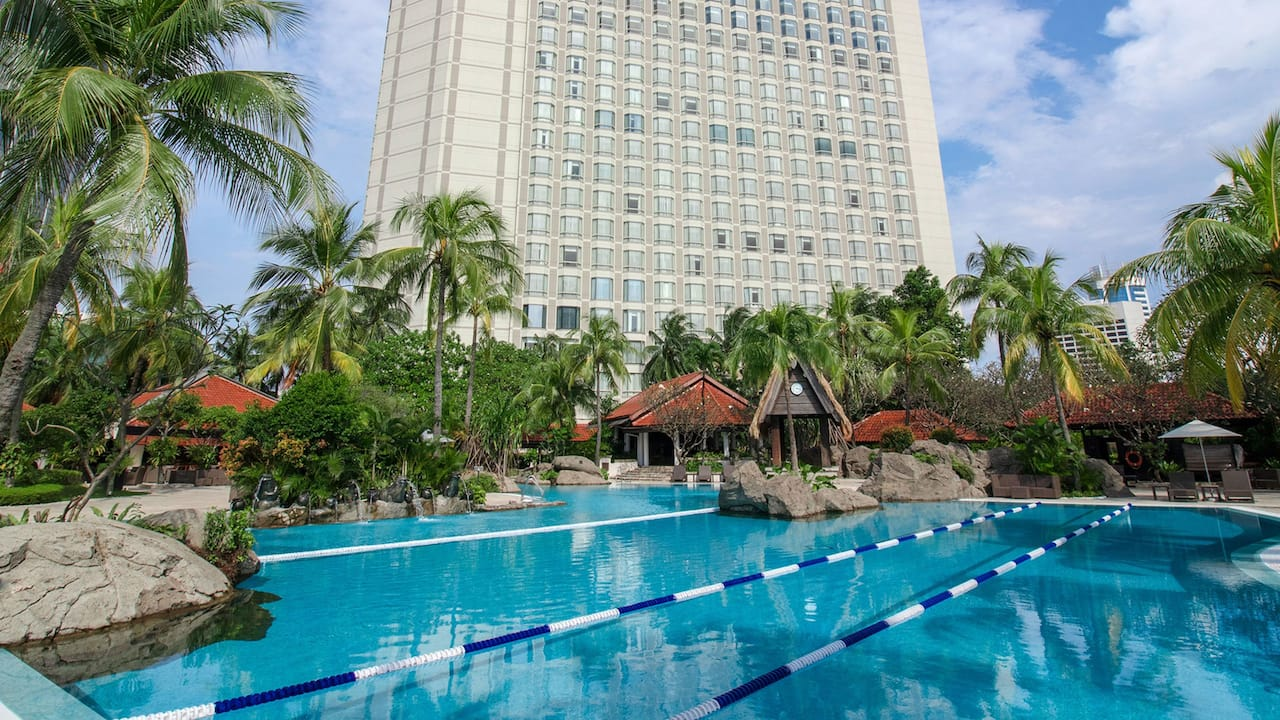 Pool at The Grand Hyatt Hotel, Jakarta