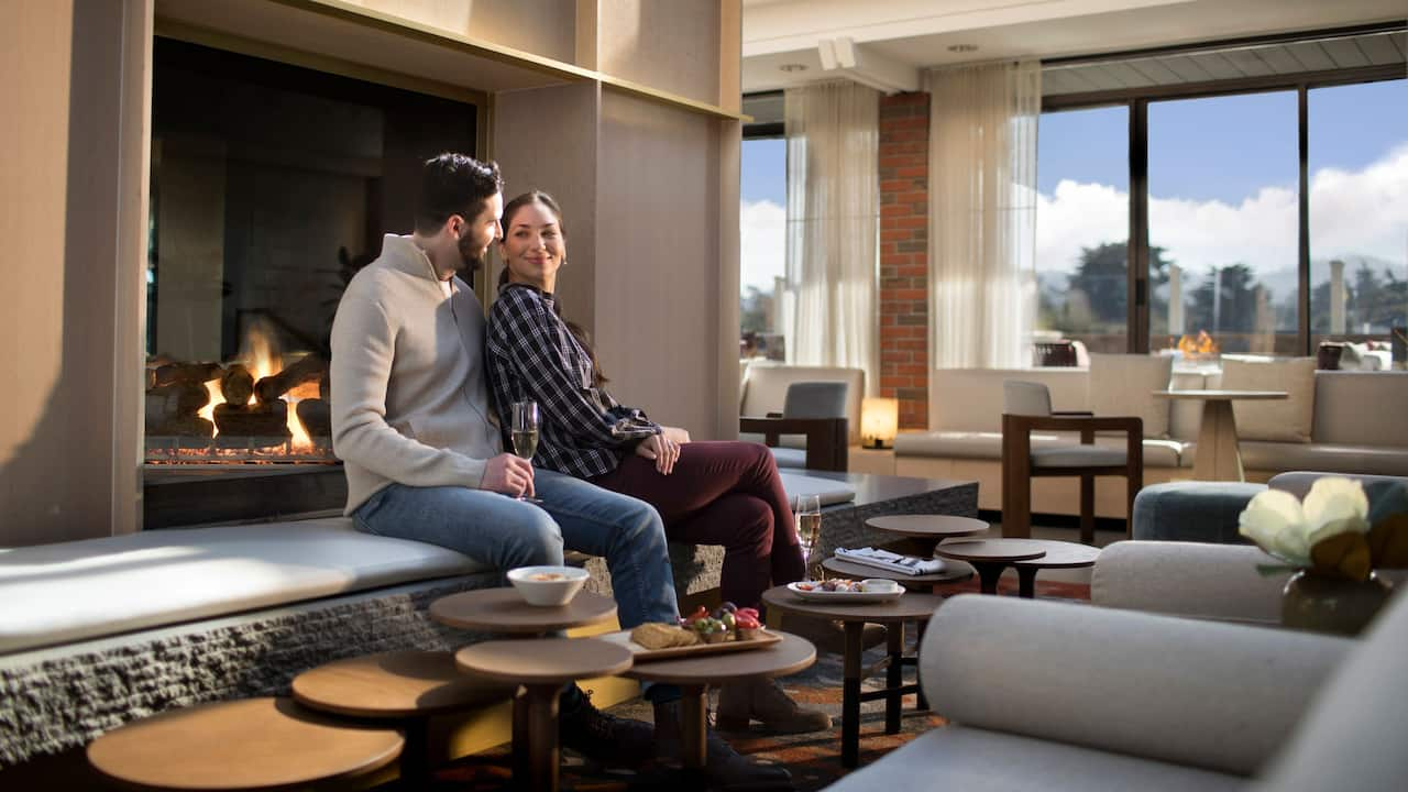 Lifestyle Couple The Hearth