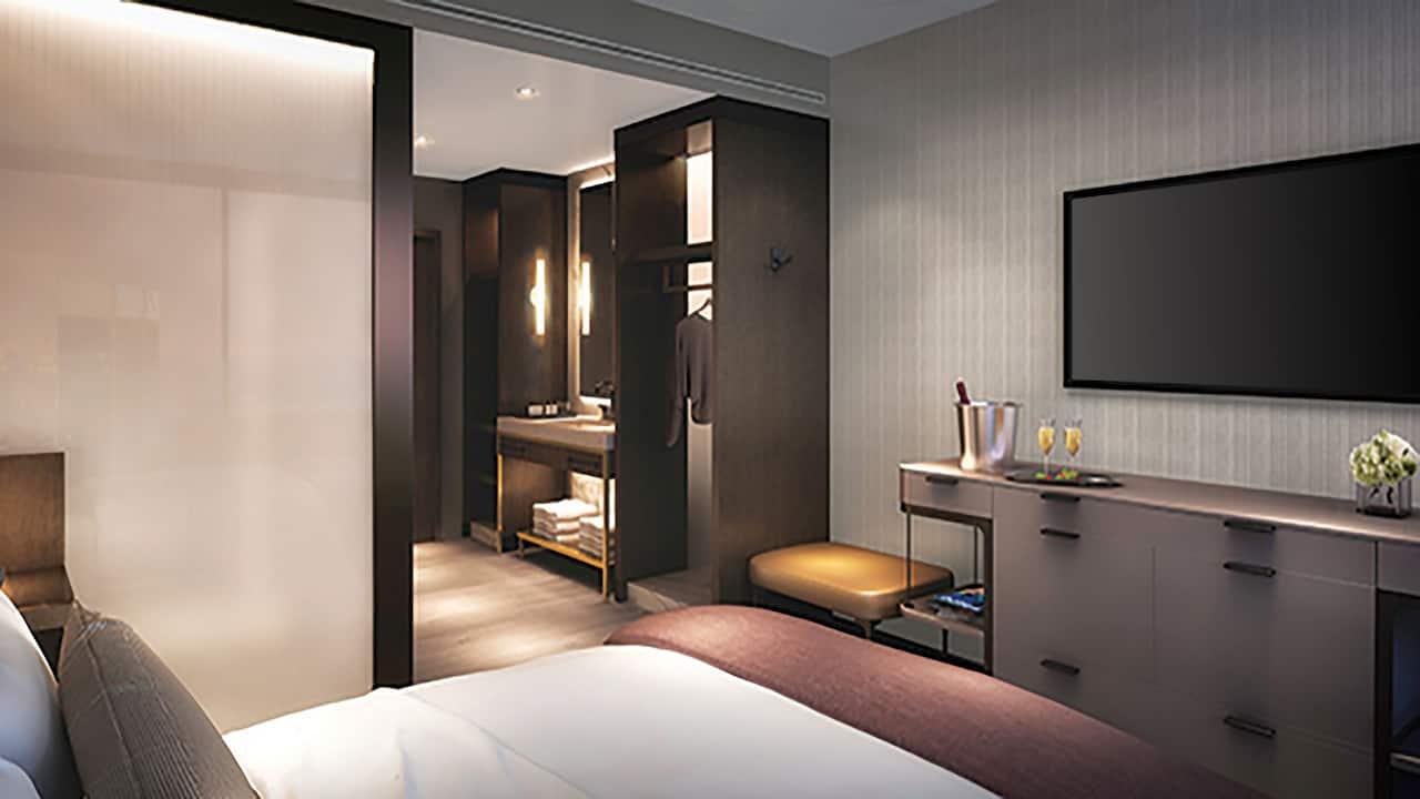 Overhead Couple Bed