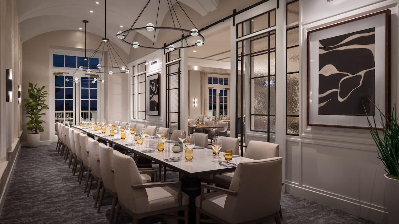 Ponto Lago Private Dining Room