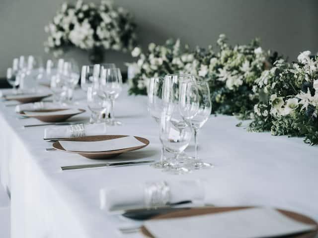 Wedding Table Setting Park Hyatt Niseko Hanazono