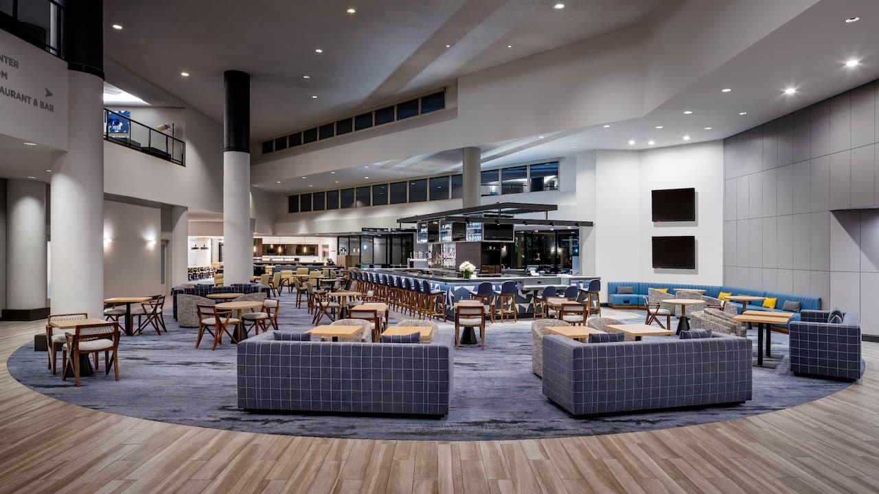 Hotel Lobby Hyatt Regency Santa Clara