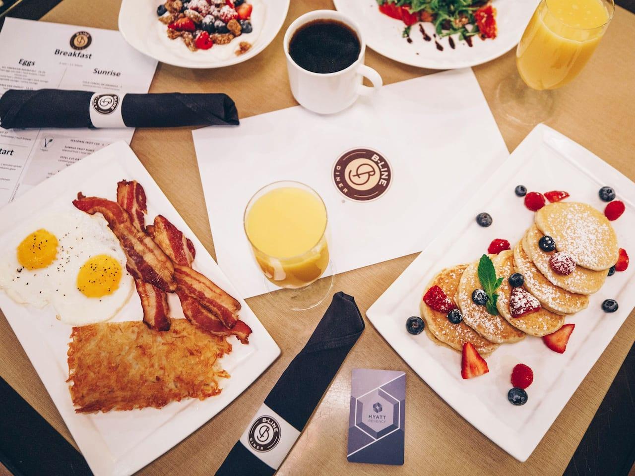 B Line Diner Breakfast