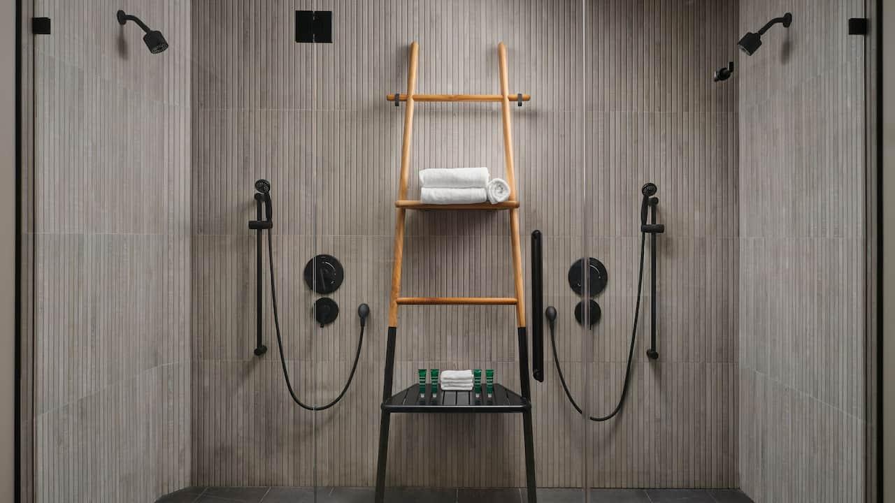 One Bedroom Suite Shower