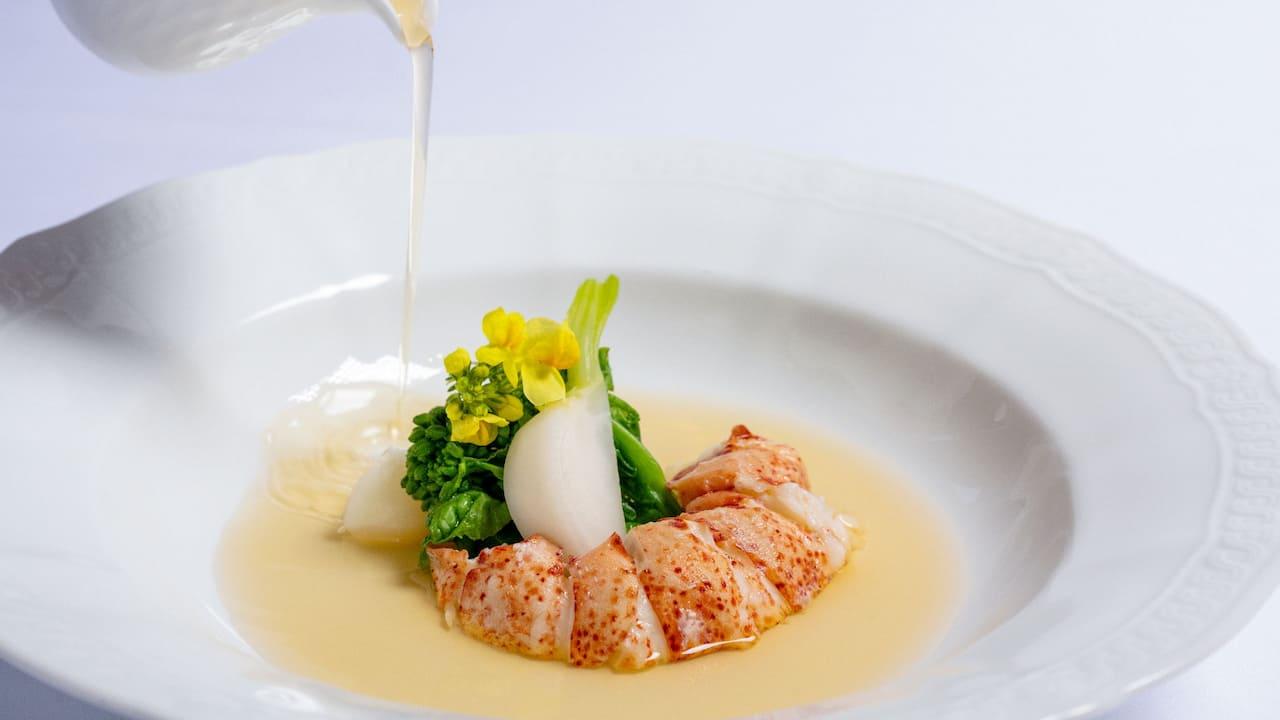 Park Hyatt Niseko Hanazono Wedding Lobster Consomme