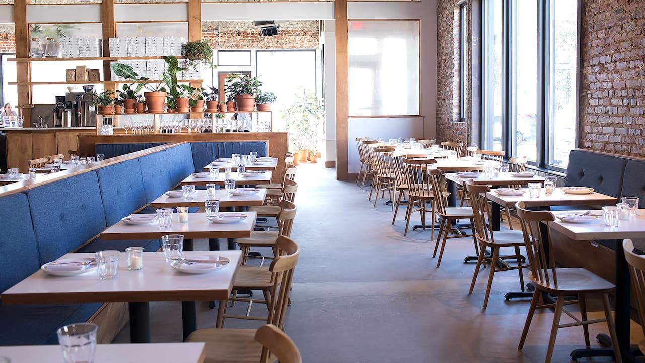 Dining area at Destination folk in Nashville, TN