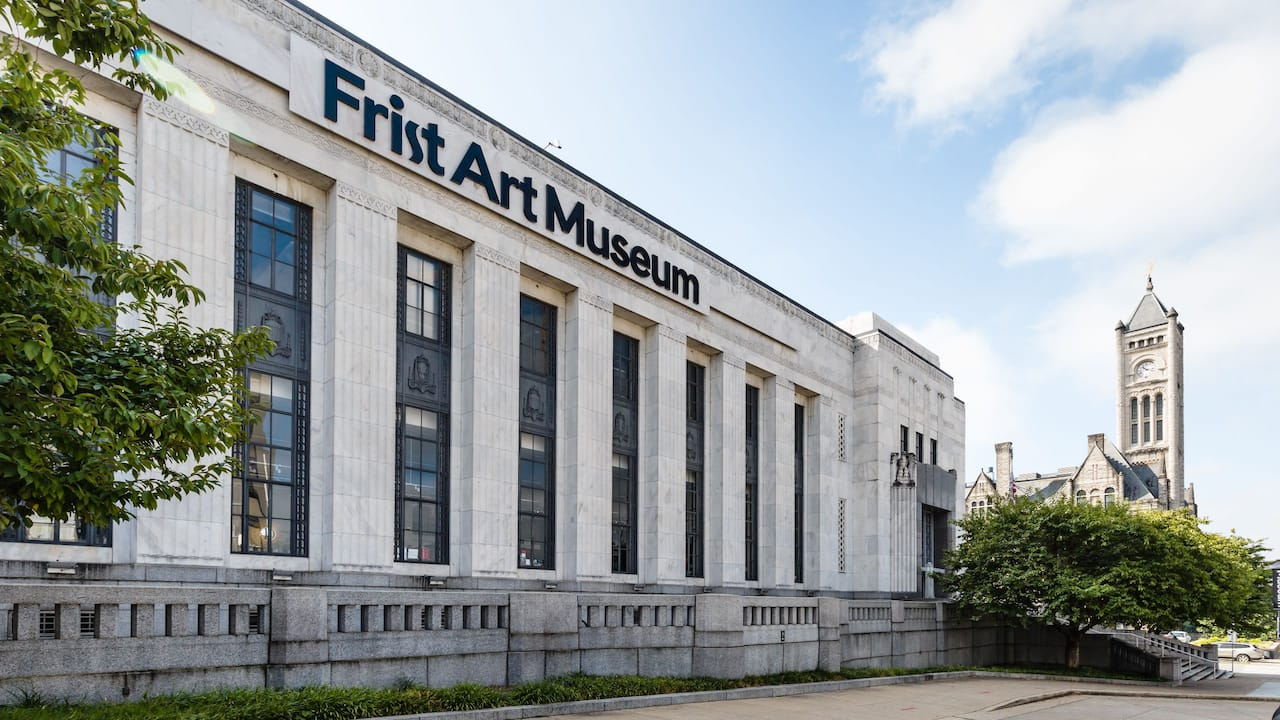 View of Nashville's First Art Museum
