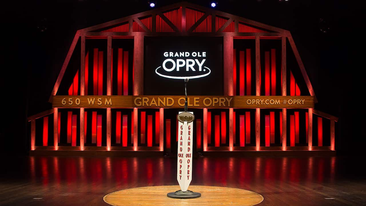 Center Stage at The Grand Ole Opry