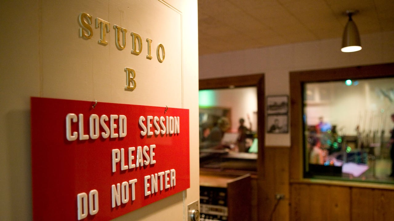 Entrance to RCA Studio B