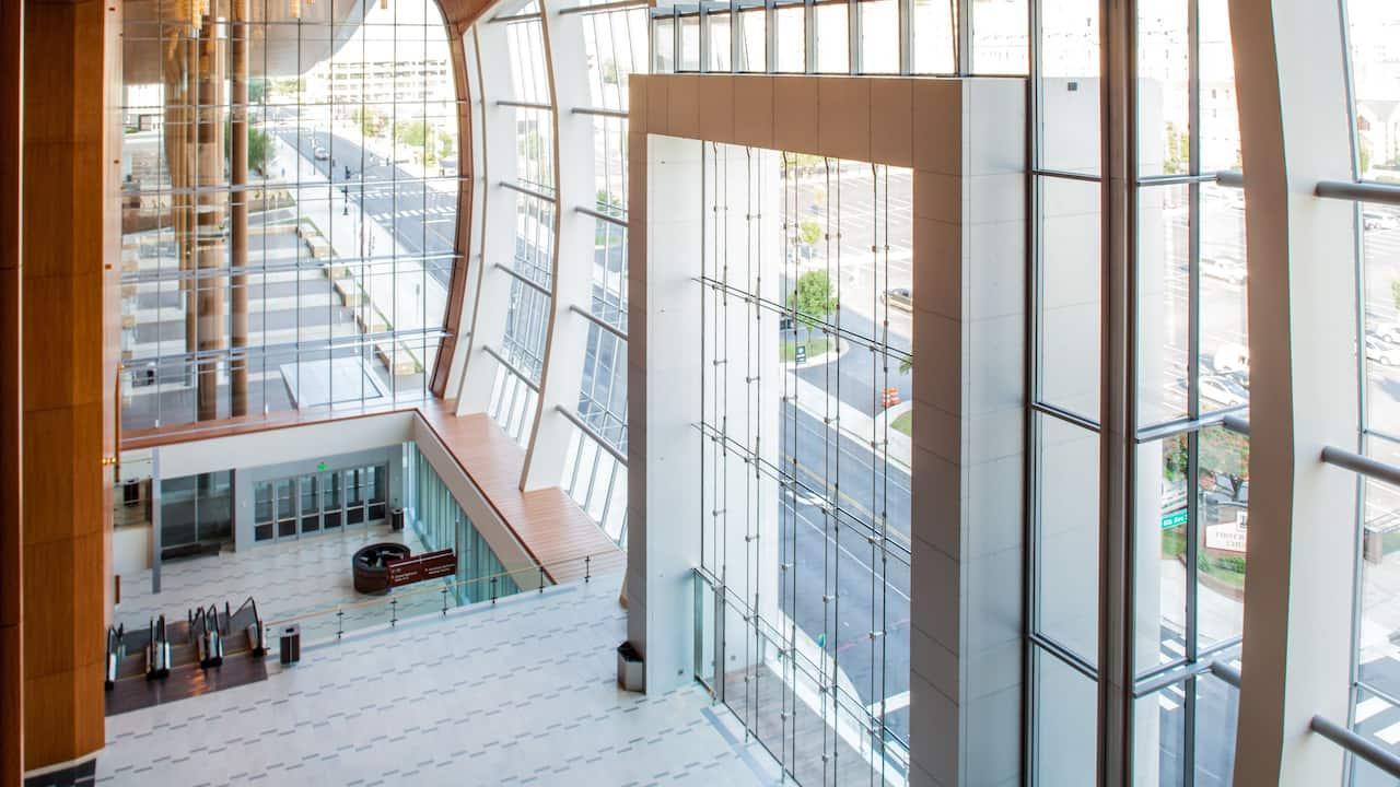 Interior of Music City Center
