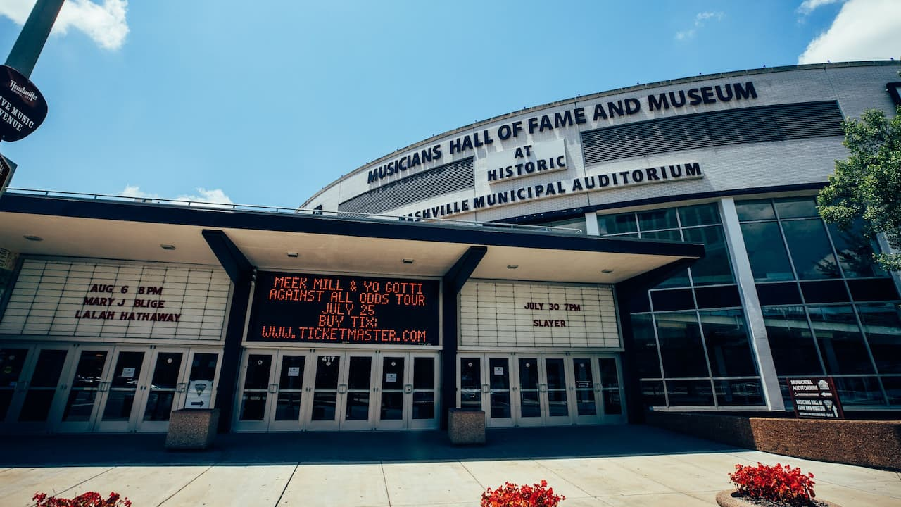 Nashville's iconic Musicians Hall of Fame