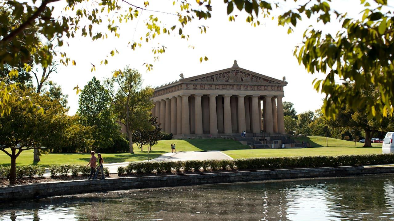 The Parthenon at Centennial Park in Nashville
