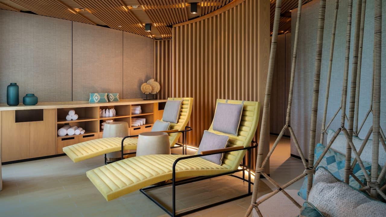 Jivapita Spa relaxation room