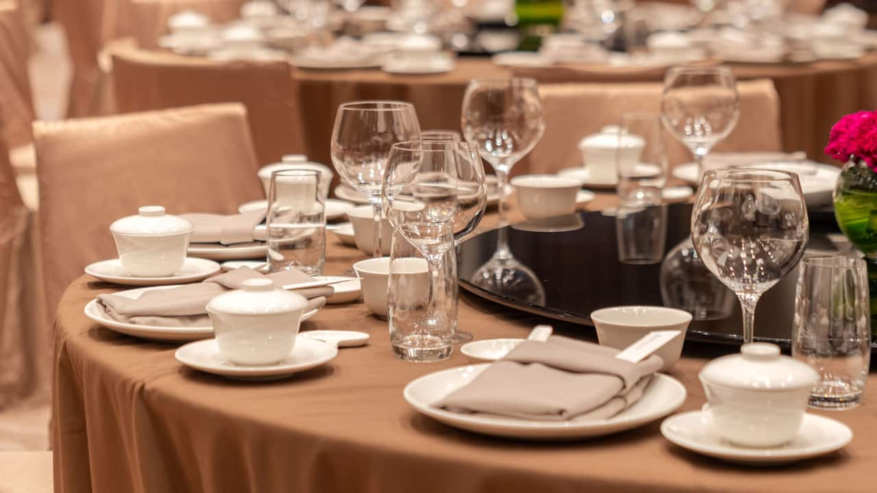 Regency Ballroom Banquet Setup