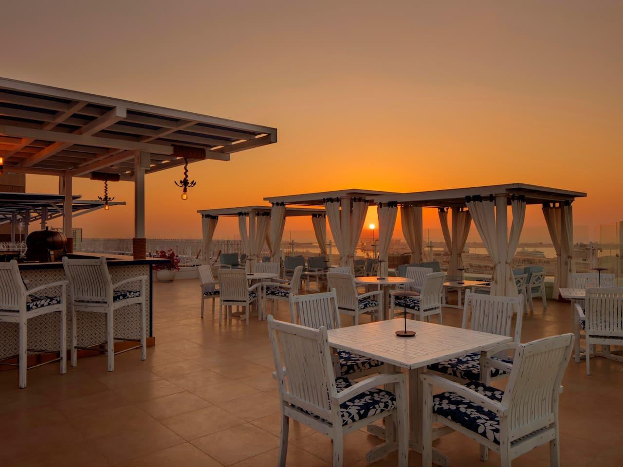 Helios | Greek Rooftop Lounge in Dubai