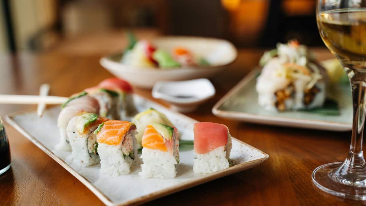 McCoys Sushi Roll