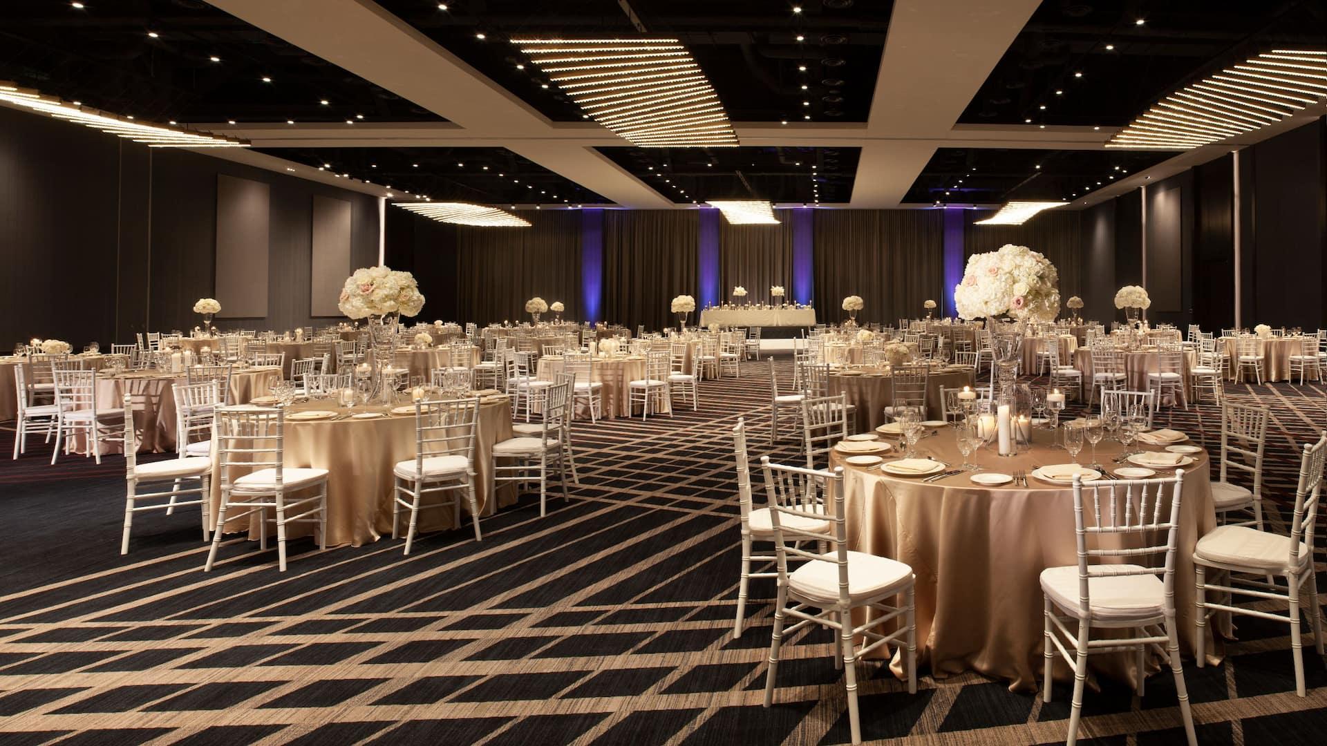 Grand Hall Social Setup