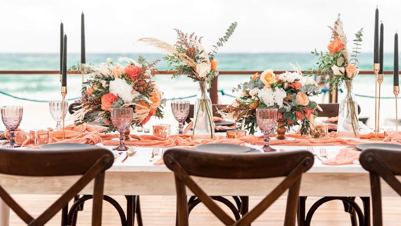 CUNPC_P0705 Summer Wedding Table Party Beach